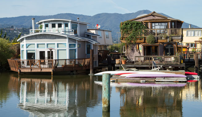 sausalito_houseboat_community